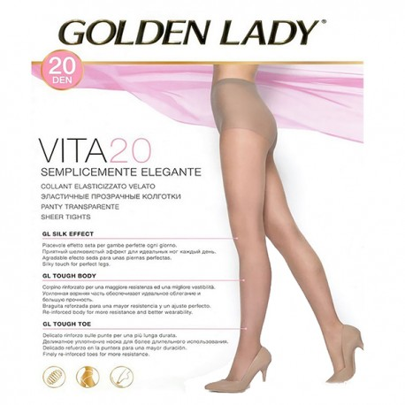 COLLANT VITA 20 GOLDEN LADY