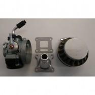 Kit Carburatore 14mm + Filtro + Collettore per Minimoto Cinesi ad Aria 2 tempi