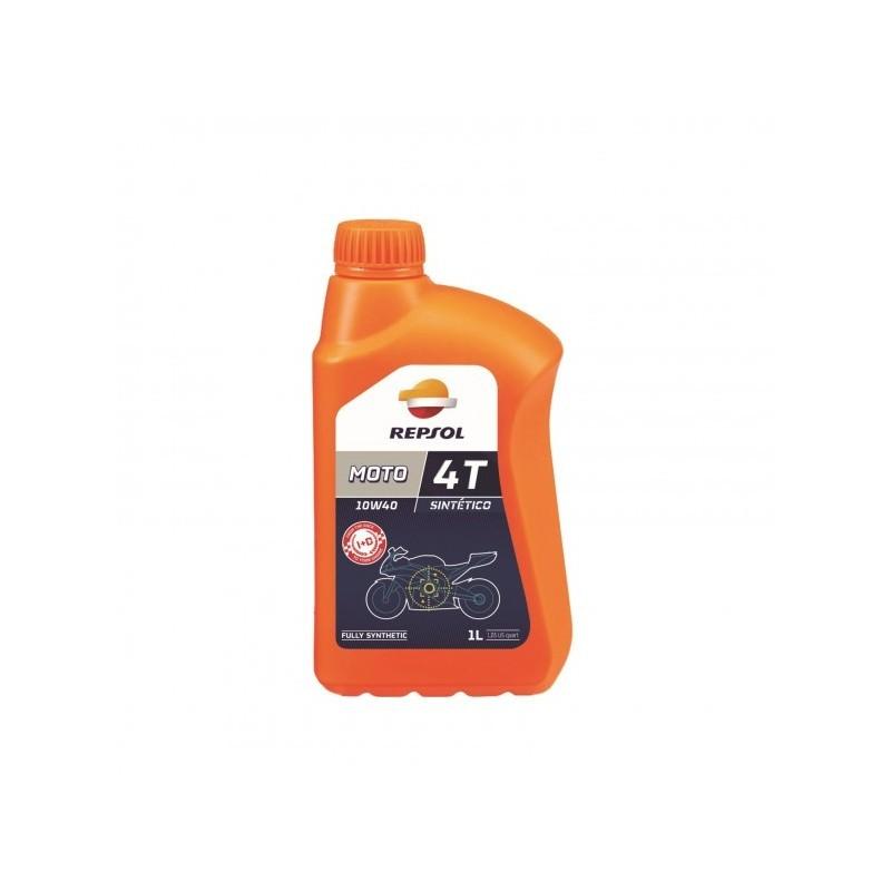 Olio Motore Repsol Sintetico 10W/40 4Tempi - 1 Litro